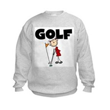 Stick Figure Girls GOLF Sweatshirt