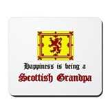 Happy Scottish Grandpa Mousepad