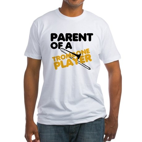 Trombone Parent Fitted T-Shirt