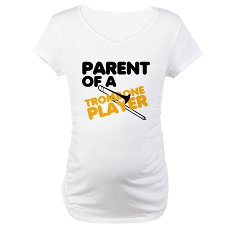 Trombone Parent Maternity T-Shirt