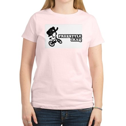 Freestyle Iraq Womens Pink T-Shirt