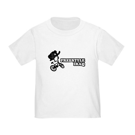 Freestyle Iraq Toddler T-Shirt