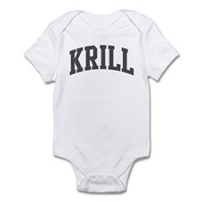 Krill (curve-grey) Infant Bodysuit