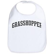 Grasshopper (curve-grey) Bib