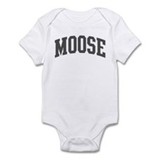 Moose (curve-grey) Infant Bodysuit