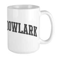 Meadowlark (curve-grey) Mug