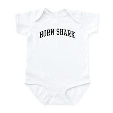 Horn Shark (curve-grey) Infant Bodysuit