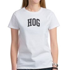 Hog (curve-grey) Tee