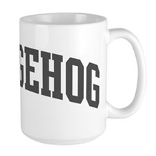Hedgehog (curve-grey) Mug