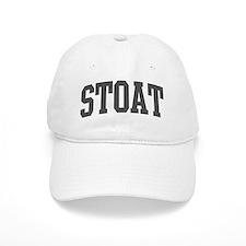 Stoat (curve-grey) Baseball Cap