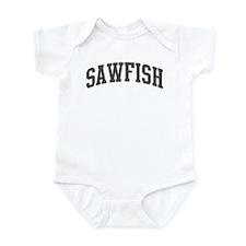 Sawfish (curve-grey) Infant Bodysuit