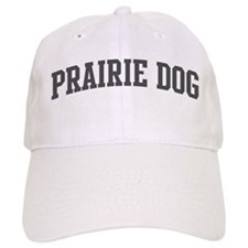 Prairie Dog (curve-grey) Baseball Cap