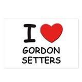 I love GORDON SETTERS Postcards (Package of 8)