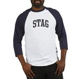 Stag (curve-grey) Baseball Jersey