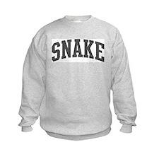Snake (curve-grey) Sweatshirt