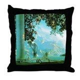 Maxfield Parrish Daybreak Throw Pillow