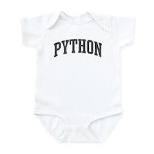 Python (curve-grey) Infant Bodysuit