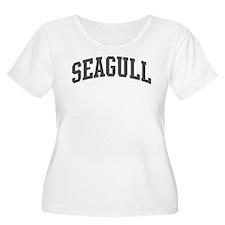Seagull (curve-grey) T-Shirt