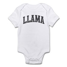 Llama (curve-grey) Infant Bodysuit