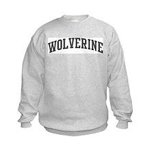 Wolverine (curve-grey) Sweatshirt