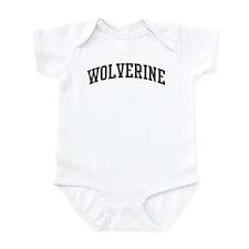 Wolverine (curve-grey) Infant Bodysuit