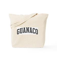 Guanaco (curve-grey) Tote Bag