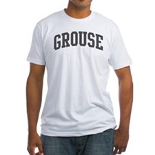 Grouse (curve-grey) Shirt