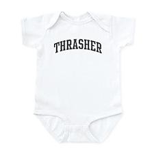 Thrasher (curve-grey) Infant Bodysuit