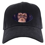 Eyes of a chimp Baseball Cap