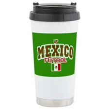 Mexico Futbol/Soccer Ceramic Travel Mug