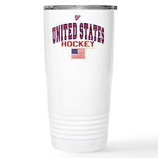 US(USA) United States Hockey Travel Mug