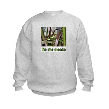 (Kids) Be the Green Gecko Kids Sweatshirt