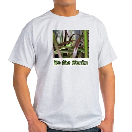 Be the Green Gecko Ash Grey T-Shirt