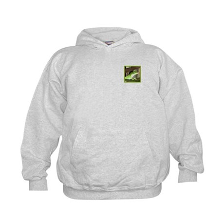 (Kids) Be the Green Gecko Kids Hoodie