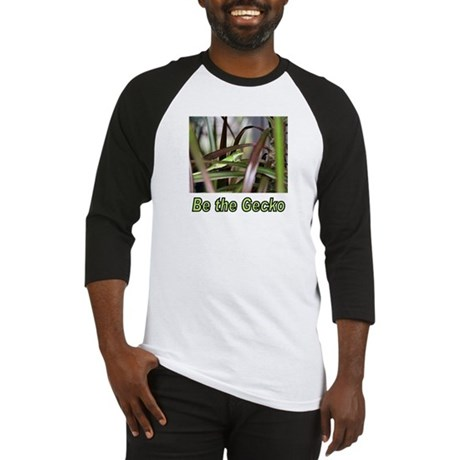 Be the Green Gecko Baseball Jersey