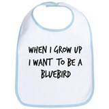 Grow up - Bluebird Bib