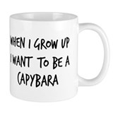 Grow up - Capybara Small Mug