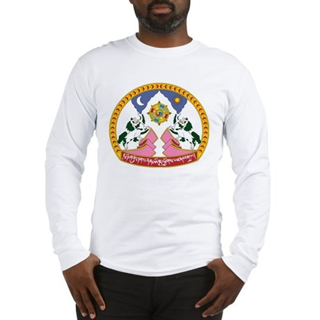 Tibet Emblem Long Sleeve T-Shirt