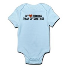 My Heart Belongs to an Optometrist Infant Bodysuit