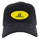 Black Gadsden Flag Hat