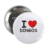 "I love DINGOS 2.25"" Button (10 pack)"
