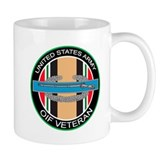 OIF Veteran with CIB Mug