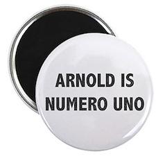ARNOLD IS NUMERO UNO Magnet