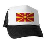 Flag of Macedonia Trucker Hat