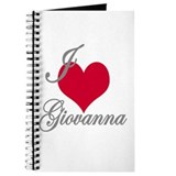 I love (heart) Giovanna Journal