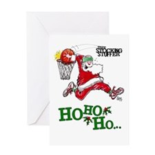 Basketball Mojo Holiday Greeting Card