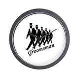 Groomsman Wall Clock