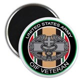 OIF Veteran with CMB Magnet