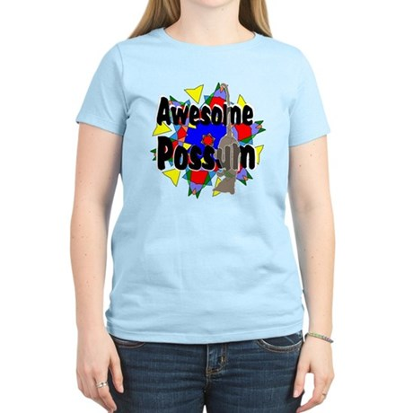 Awesome Possum Kaleidoscope Women's Light T-Shirt