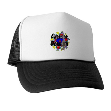 Awesome Possum Kaleidoscope Trucker Hat